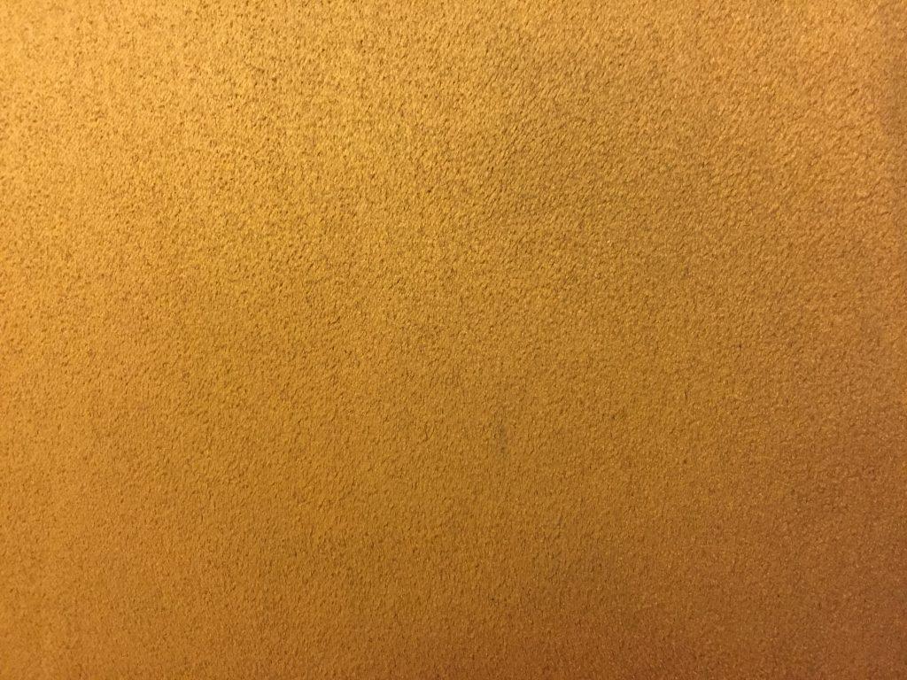 Gold Felt Texture close up