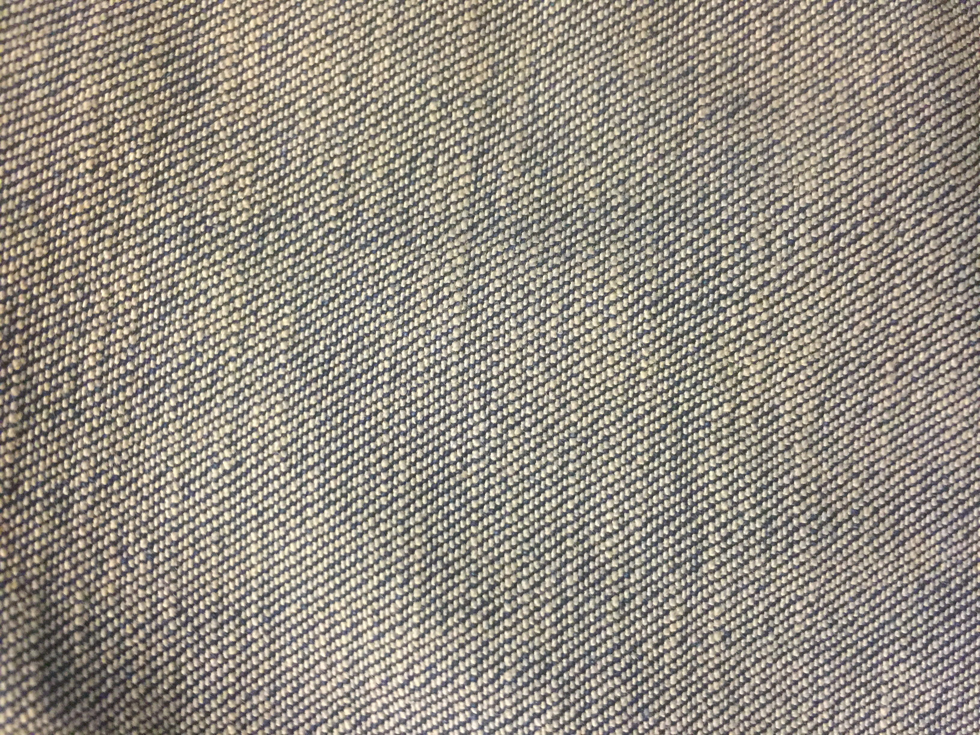 Rough Close Up Of Blue And White Fabric Free Textures