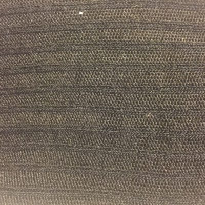 Tightly knit fabric that is chocolate brown