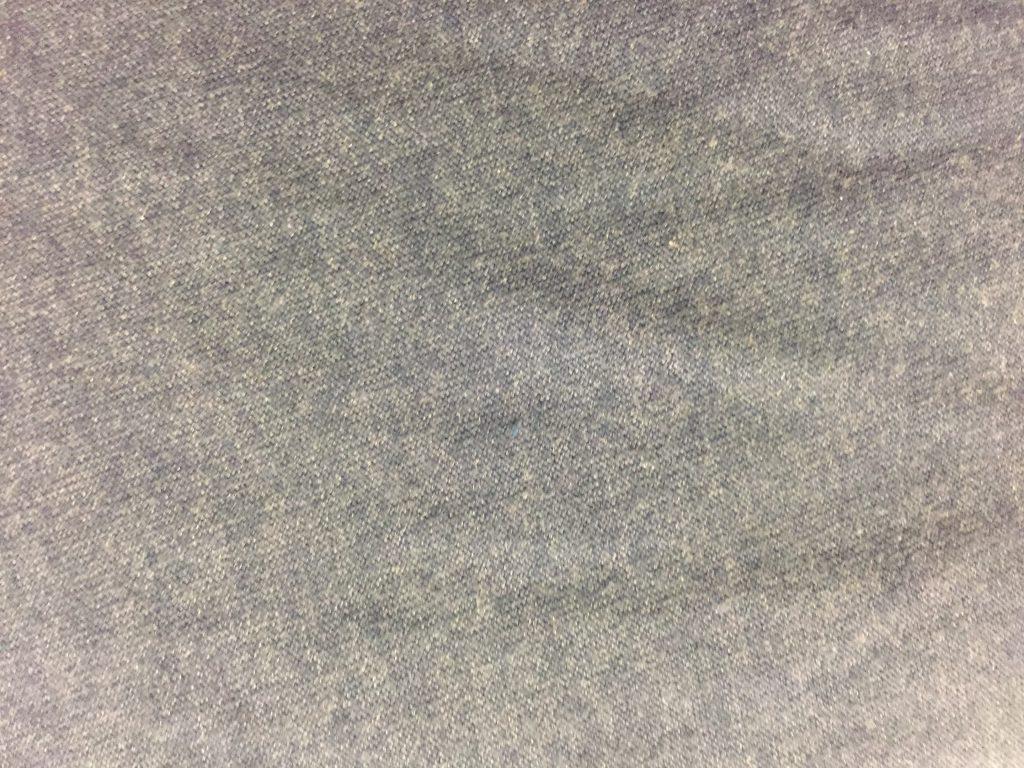 Close up of light grey fabric texture