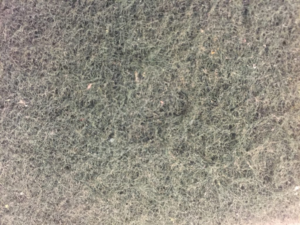 Dull grey green fibrous fabric texture