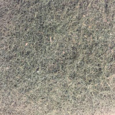 Dull grey green fibrous fabric texture