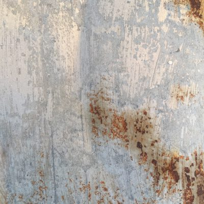 Corroding Metal with Rust