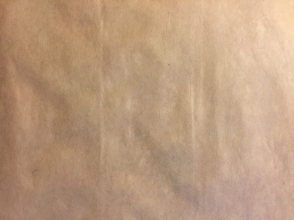 High resolution light brown paper texture with clear grain