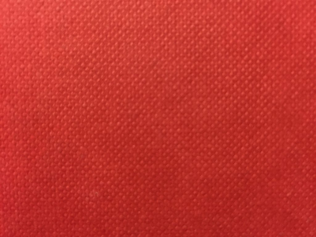 Blotchy red pattern from book cover