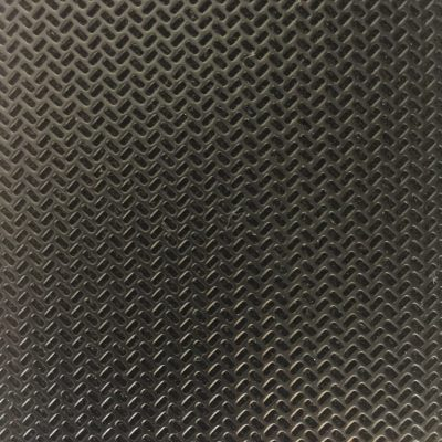 Dark black and grey plastic pattern with glossy edges