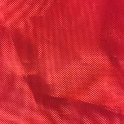 Red Plastic Fabric
