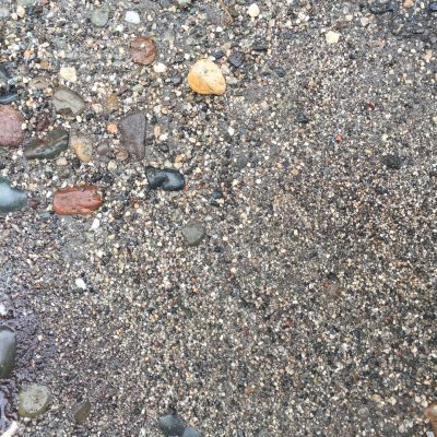Fine Wet Gravel with Stones