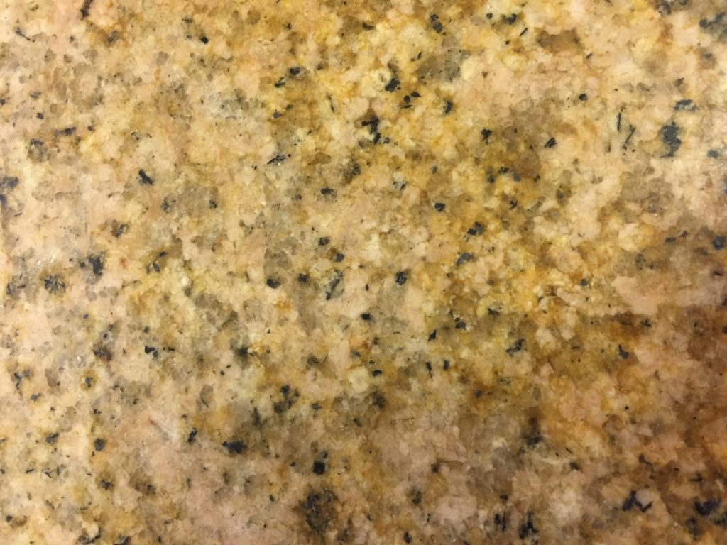 Granite Counter Top with Stain