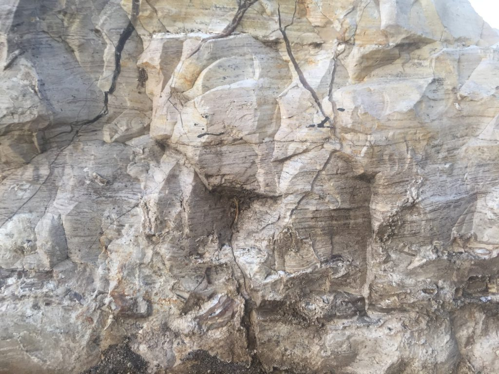Crumpled Geometric Rock Texture