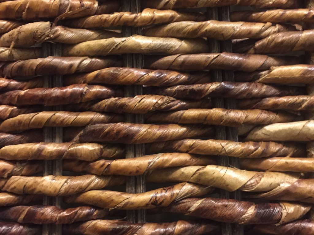 Close Up Woven Texture