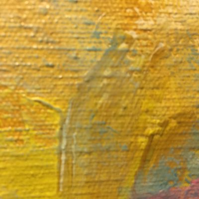 Canvas texture with colorful brush strokes