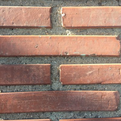 Bricks with scratches masonry texture