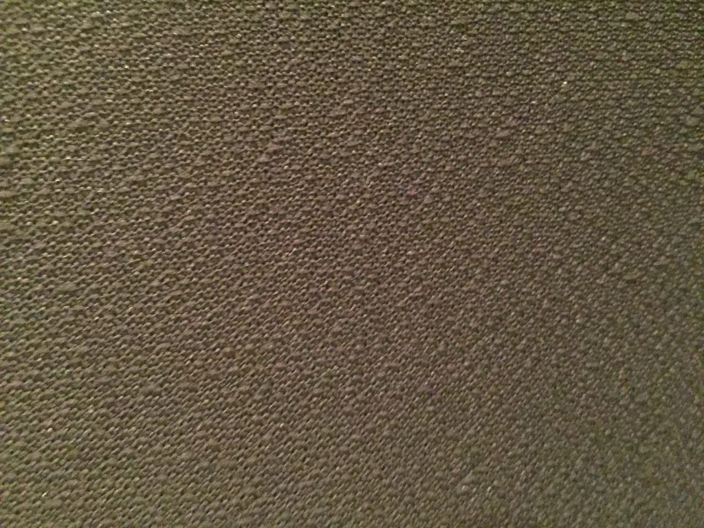 Silver/Grey woven speaker fabric close up