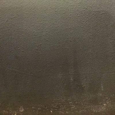 Dark grey paint on dry wall