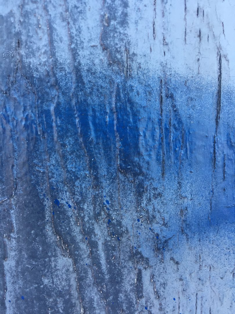 Glossy frosted glass with shades of blue   Free Textures