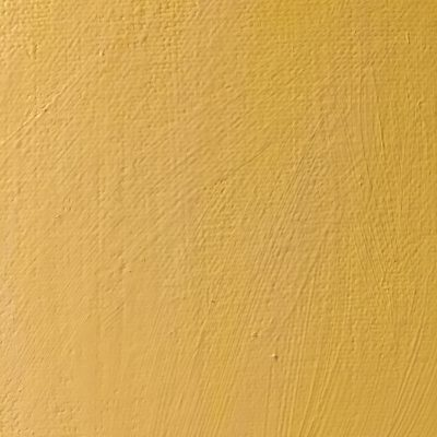 Canvas with light yellow acrylic paint brush strokes