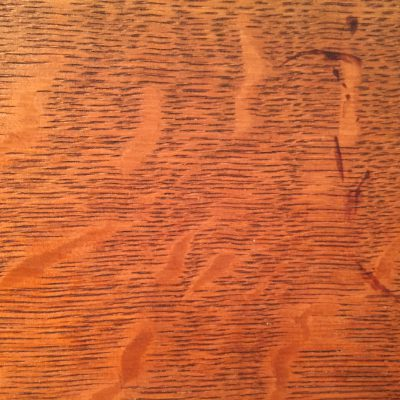Cherry red table top with thin grooves texture