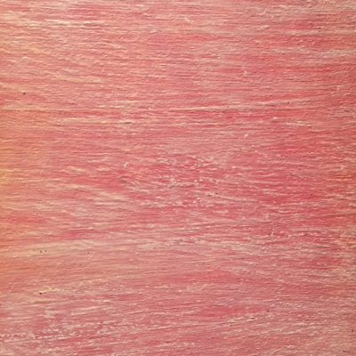 Dry brush strokes with pink base overlaid with off white