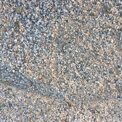 Small white gravel with slight color variation