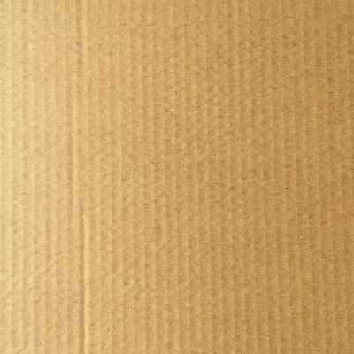 Clean cardboard with light brown color