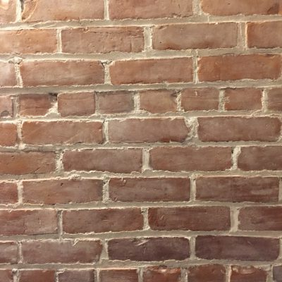 Clean brick wall