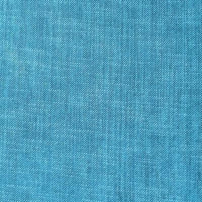 Bright teal fabric with detailed stitching of knit cloth