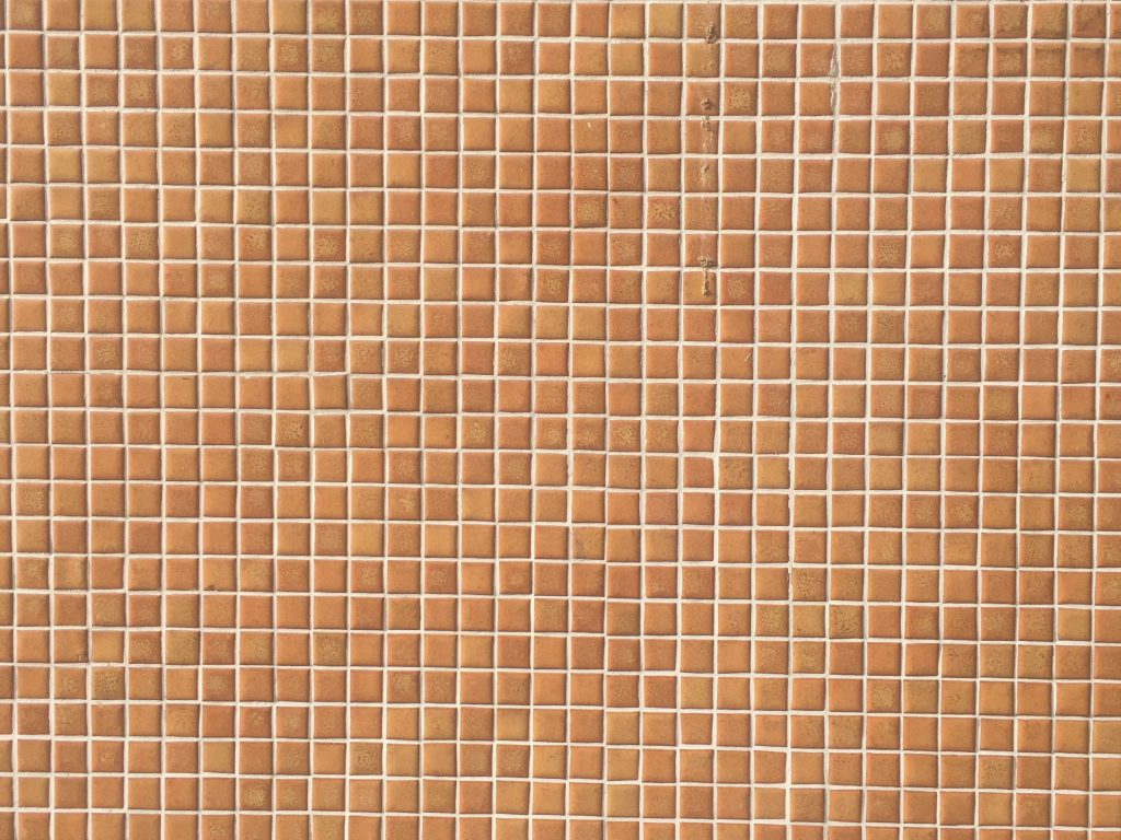 Basic brown square tiles