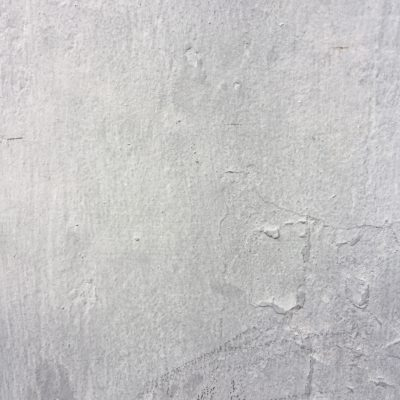 Layers of white paint with scuff marks