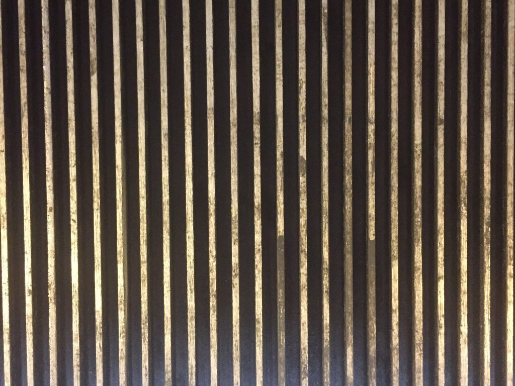 Metal grate close up