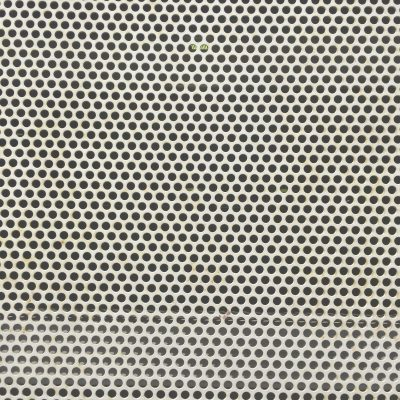 Metal mesh with light rust