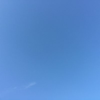 Light blue sky with cloud