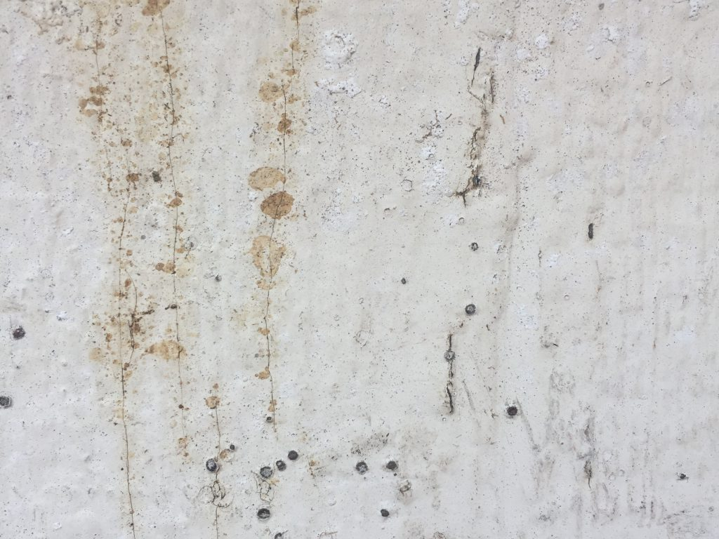 Crusty old white paint