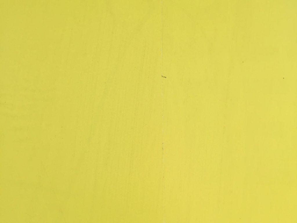 Vibrant yellow paper