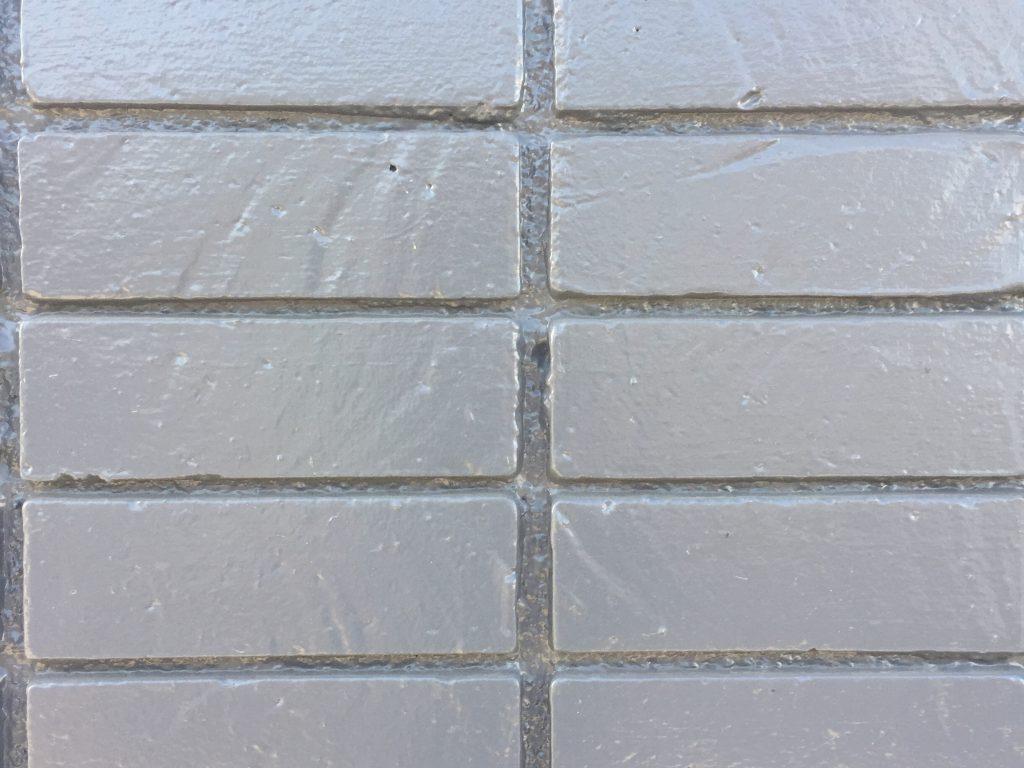 Bricks with blue grey color