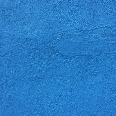 Bright blue concrete