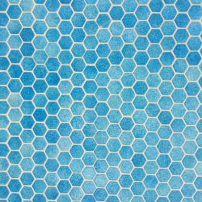 Tiles with varying shades of blue