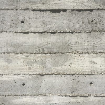 Concrete wall with wood texture