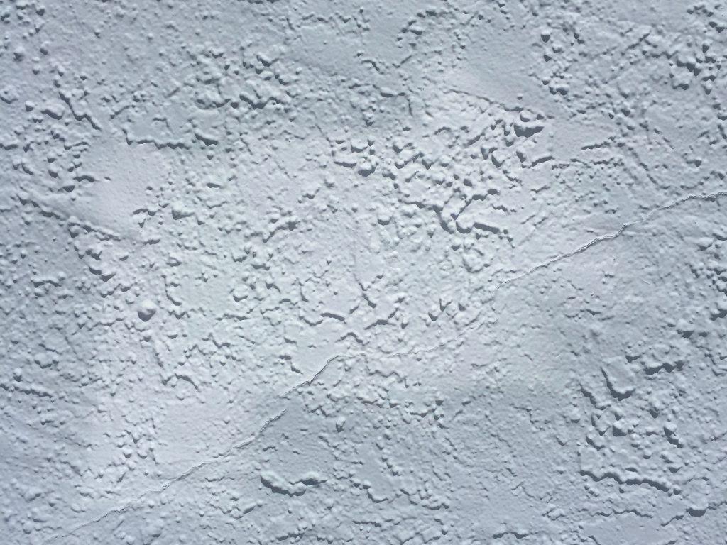 Off white stucco wall