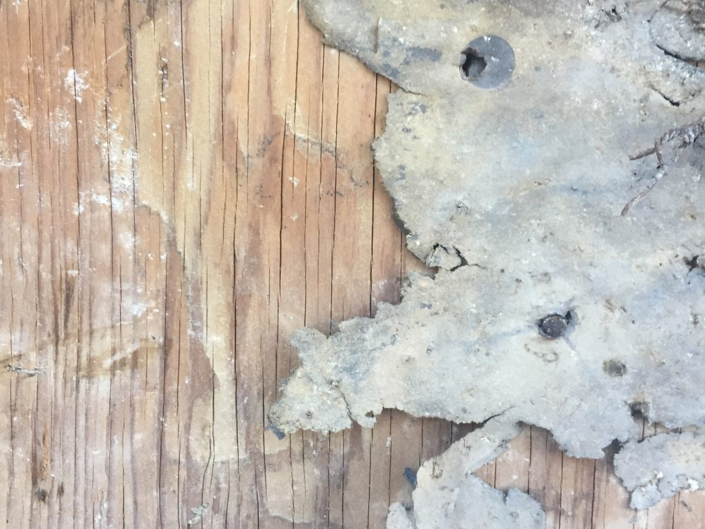 Grungy plywood