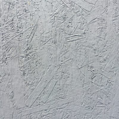 White paint over plywood