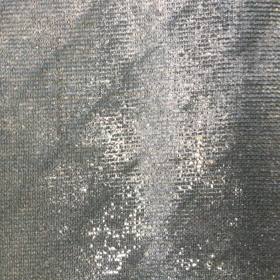 Pale green construction fabric