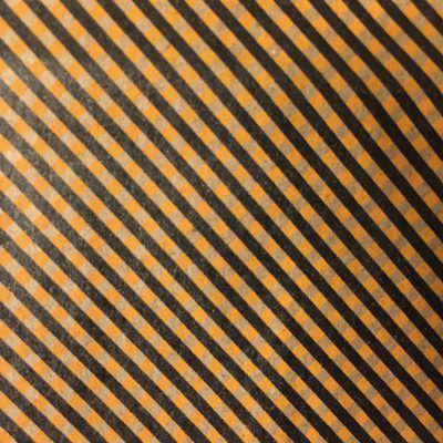 Light brown paper with printed stripes