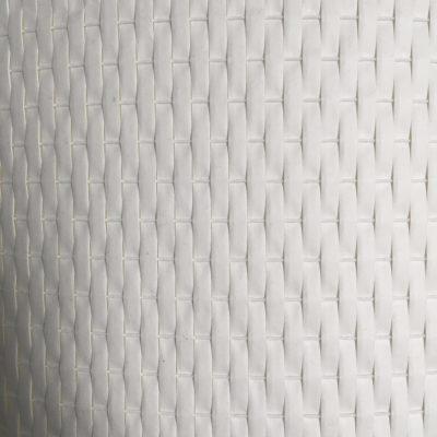 Woven white plastic