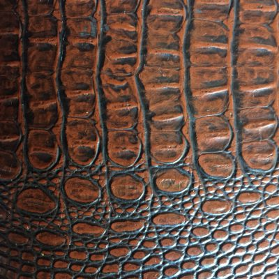 Rich brown leather pattern