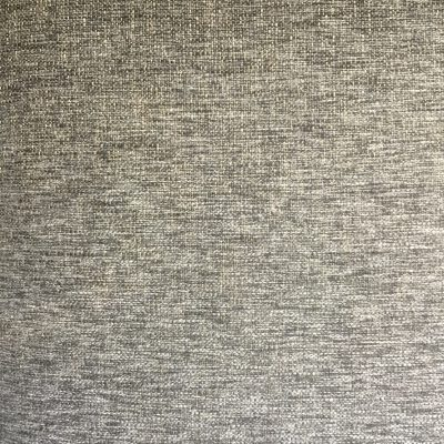Gray and white lightly knit fabric.