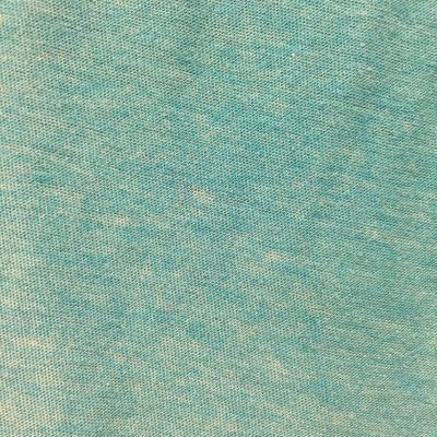 Teal fabric with loosely knit pattern