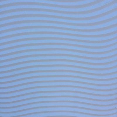 Dull blue wavy