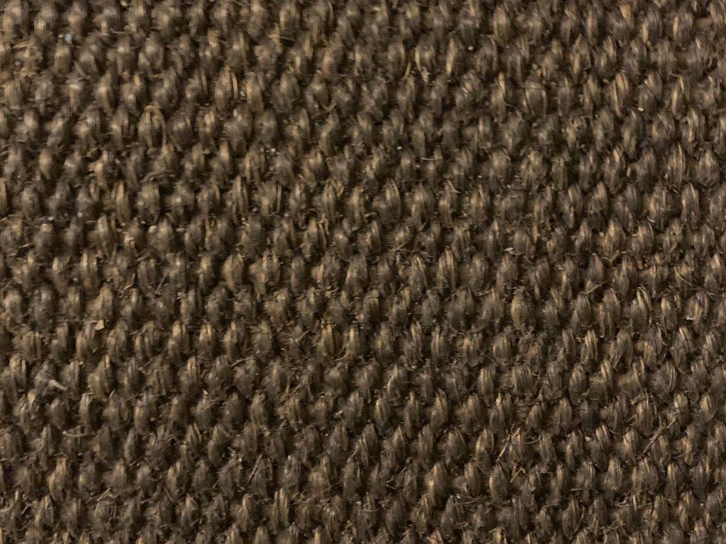 Brown tightly knit tweed