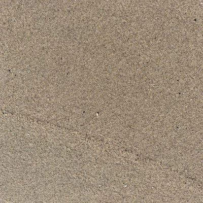 Wet light brown sand